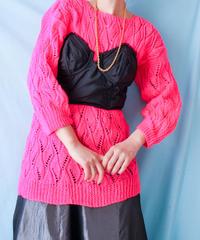 【tiny yearn】Euro Crochet Hand Knit Sweater