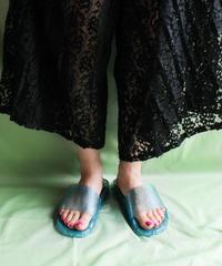 Glitter Clear Hep Sandal