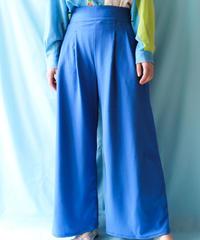 【tiny yearn】Italy Blue Gaucho Pants