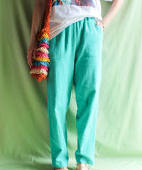 【tiny yearn】Mint Color Easy Pants