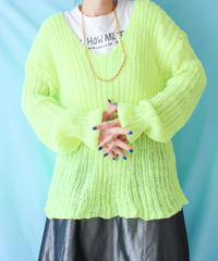 【tiny yearn】Euro Chunky Hand Knit Sweater