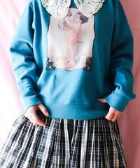 【tiny yearn】Hanes Picture Print Sweatshirt