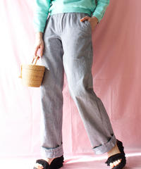 【tiny yearn】Euro Houndstooth Check Pants