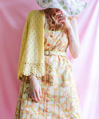 【tiny yearn】Flower×Lace Design Dress