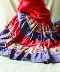 【tiny yearn】Handmade Tiered Circular Skirt