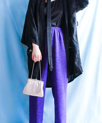 【tiny yearn】Purple Volume Easy Pants