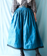 【tiny yearn】Euro Smocking Flare Handmade Skirt