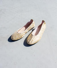【tiny yearn】Flower Embroidery China Shoes