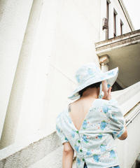 【Sway】〈Blue Roses〉  Boonie hat&Blouse Setup