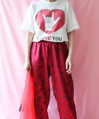 【tiny yearn】I LOVE YOU Big T-shirt