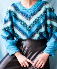 【tiny yearn】Euro Metallic Dolman Sleeve Sweater
