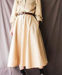 【Seek nur】Mesh Design Shirt Dress