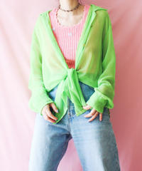 【tiny yearn】Euro Sheer Over Blouse