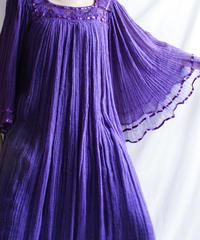 【Seek nur】Purple Greece Dress