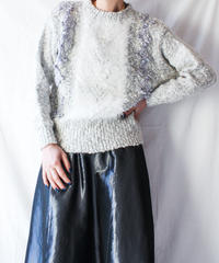 【Seek nur】Euro Shaggy Design Sweater
