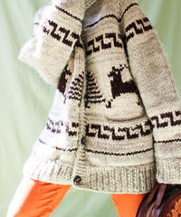 【tiny yearn】CANADA  Hand Knit Cowichan Sweater