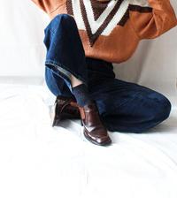 【Seek nur】Euro Lurex Design Sweater