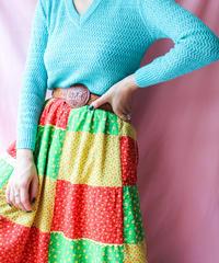 【tiny yearn】VTG V-neck Acryl Sweater