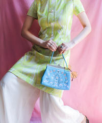 【tiny yearn】60's Euro Psychedelic Dress