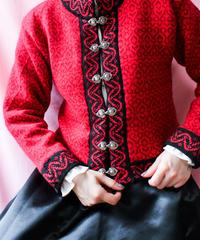 【tiny yearn】Norway Nordic Short Cardigan