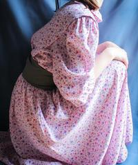 【Seek nur】Small Flower Long Dress