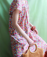 【tiny yearn】Colorful Paisley Long Dress