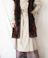 【Seek nur】London Fog Trench Coat