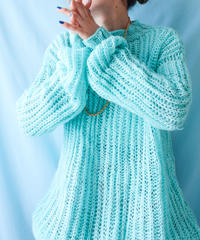 【tiny yearn】Euro Chunky Hand Knit Sweater