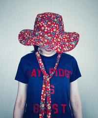 【Sway】<Red Flowers> Boonie Hat