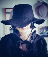 【Sway】<Black Embroidery> Boonie Hat