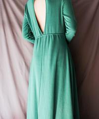 【Seek nur】Open Back Design Long Dress