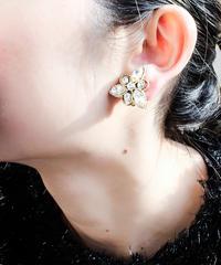 Vintage Clear Bijou Earring