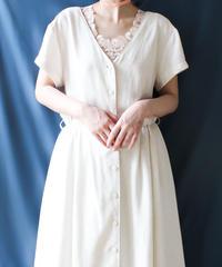 【Seek an nur】Euro Button Design Long Dress