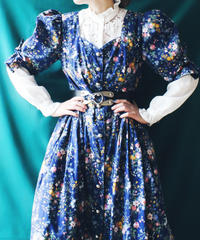 【Seek an nur】Euro Flower Tyrol Long Dress