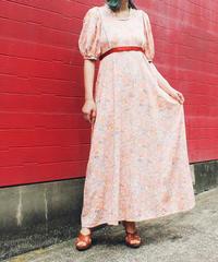 【tiny yearn】Handmade Flower Maxi Dress