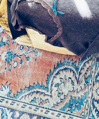 【Sway】<Made in JAPAN Underwear> AC&Wool L.sleeve:Brown & blue