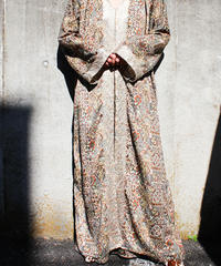 【Seek nur】India Ethnic Hoodie Maxi Dress