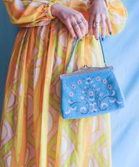 60's Flower Beads Bag