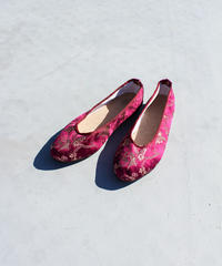 【tiny yearn】Crane Embroidery China Shoes