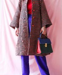 【tiny yearn】1970's Rétro Knit Long Coat