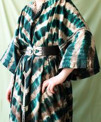 【tiny yearn】Vintage African batik Tie dye Dress