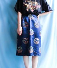 【tiny yearn】China Design Box Skirt
