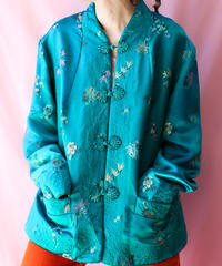 【tiny yearn】Embroidery Reversible China Jacket