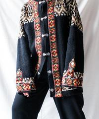【Seek nur】Norway Nordic Knit Cardigan