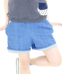 デニムのショートパンツ♡アオ