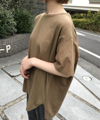 "material mix waffle pullover  ""3color"" [201947619]"