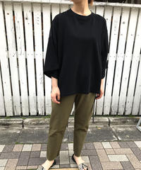 "material mix big pullover  ""3color"" [201947618]"