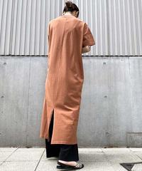 Back slit-T OP [0101110]