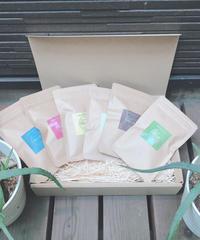 贈物用 6種類BOX入りミニセット(各5g)