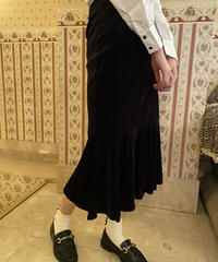 velours skirt